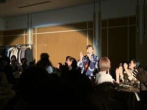 2020年新年の集い 宇野社長ステージ